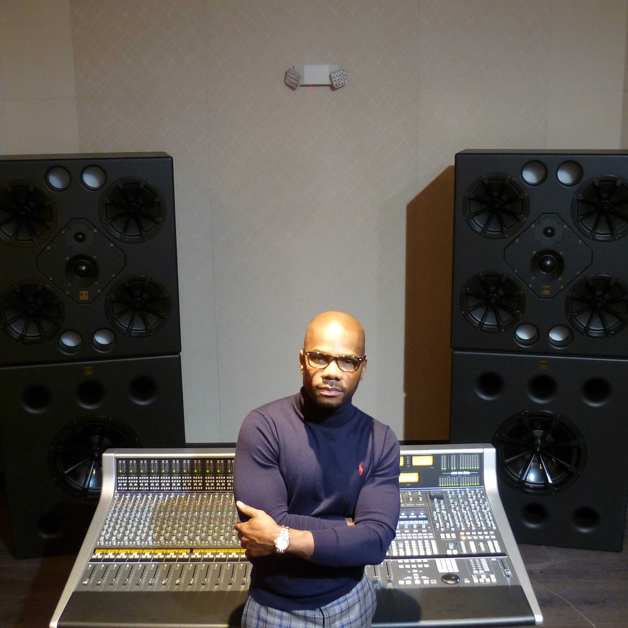 Kirk Franklin studio